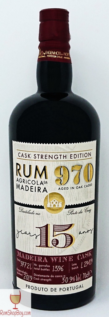 Rum 970 15yo Bottle