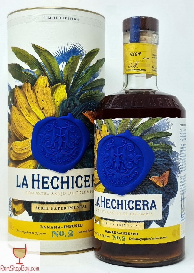 La Hechicera Banana Infused Rum