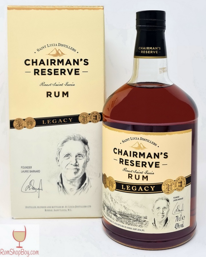 Chairman's Reserve Legacy Box and Bottle