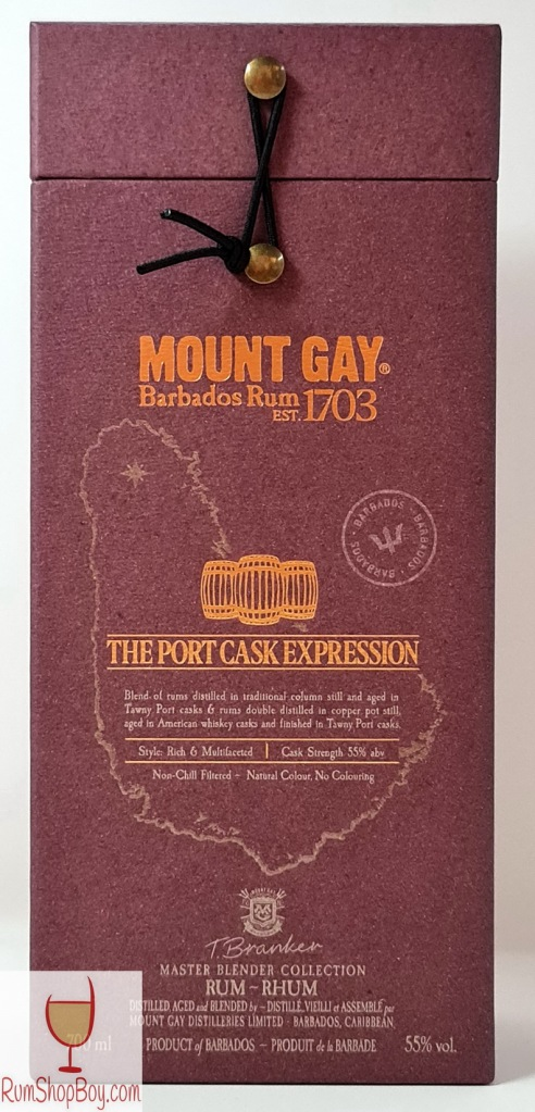 Mount Gay Port Cask Expression Box