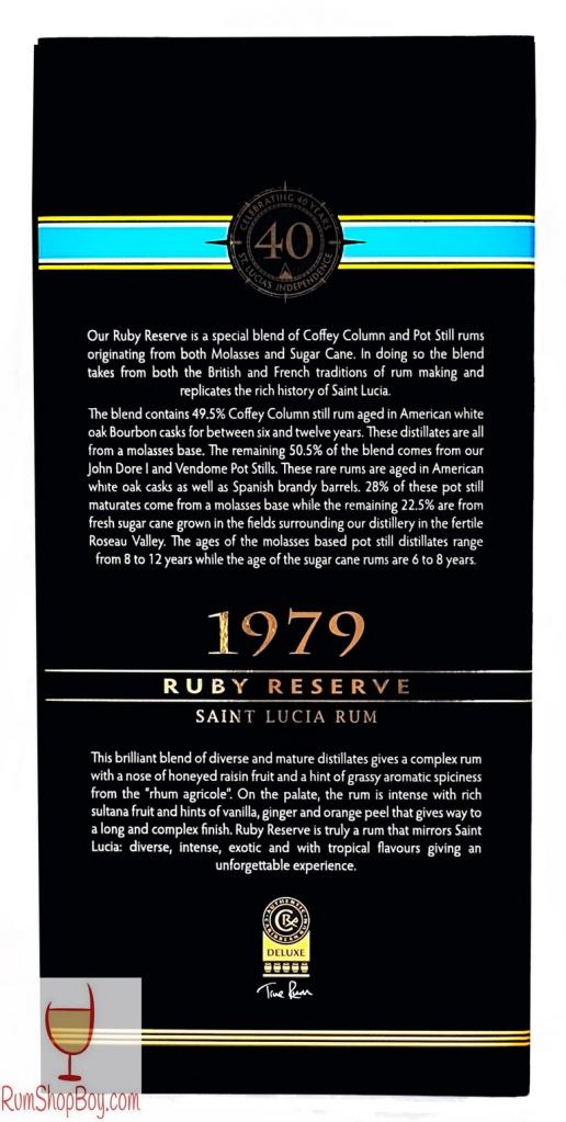 SLD 1979 Ruby Reserve Box (Rear)